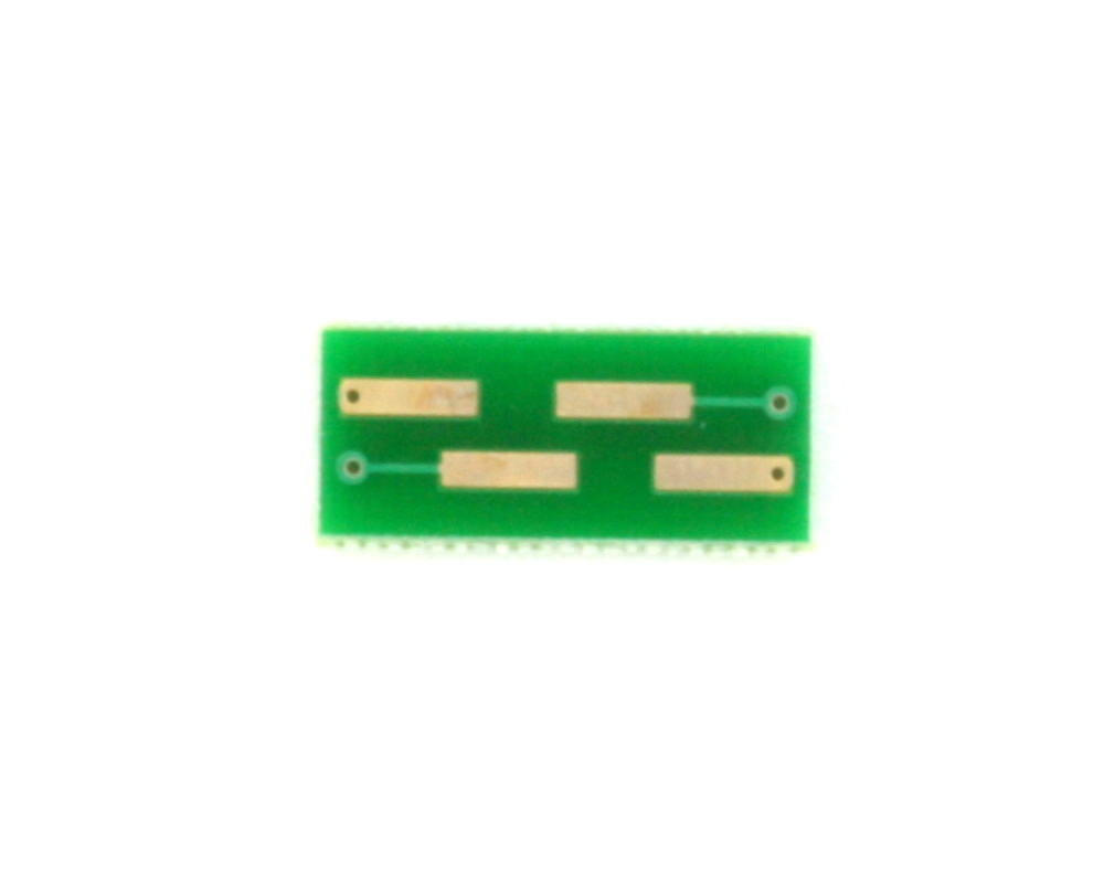 BGA-4 to DIP-4 SMT Adapter (0.8 mm pitch, 1.6 x 1.6 mm body) 3