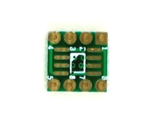 SOIC-8 to DIP-8 SMT Adapter (1.27 mm pitch, 150/200mil body) 0