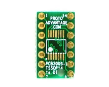 TSSOP-14 to DIP-14 SMT Adapter 0