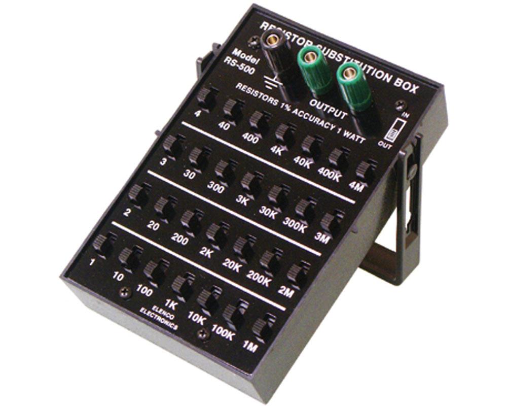 1% 1 Watt Resistor Substitution Box 0