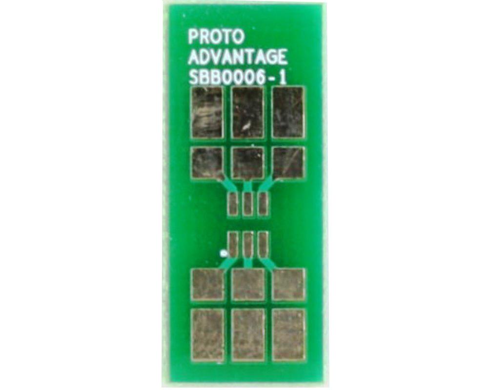 SOT23-6 SMT Adapter Bread board - Small 0
