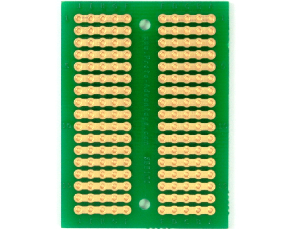 170 pts solder-in breadboard (Exact Solderless Match) 1