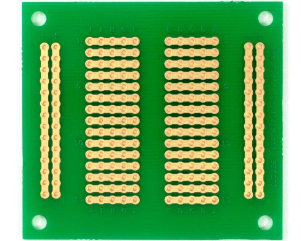 206 pts solder-in breadboard (Exact Solderless Match) 1
