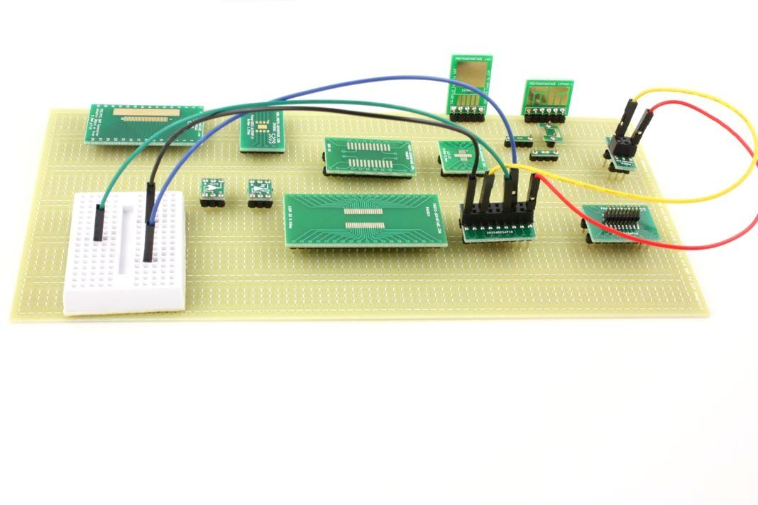 Solder Breadboard (80 row 6 column) for 0.6