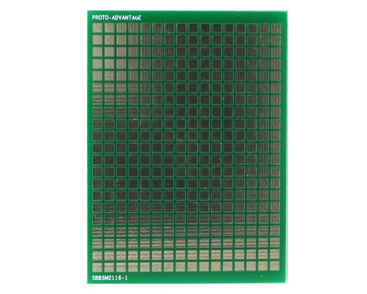 Surface mount breadboard 336 SMT pads 0