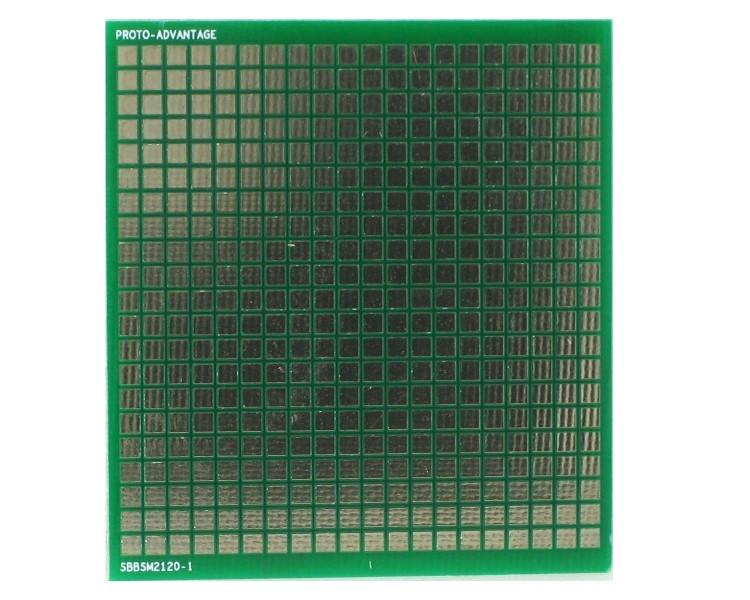 Surface mount breadboard 420 SMT pads 0