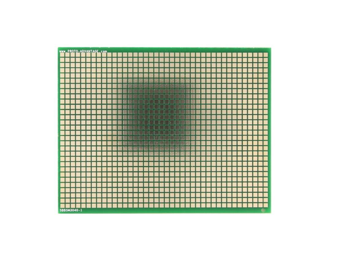 Large Surface mount breadboard 1200 SMT pads 0