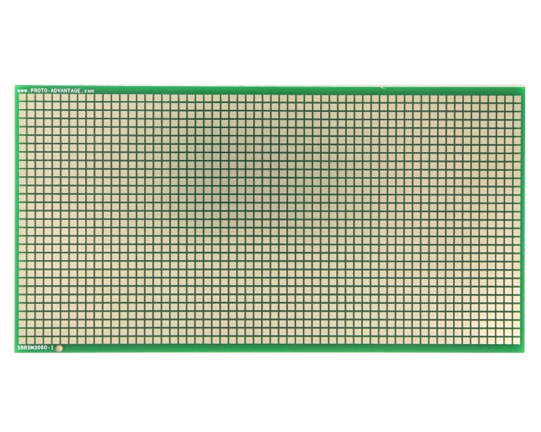 Large Surface mount breadboard 1800 SMT pads 0