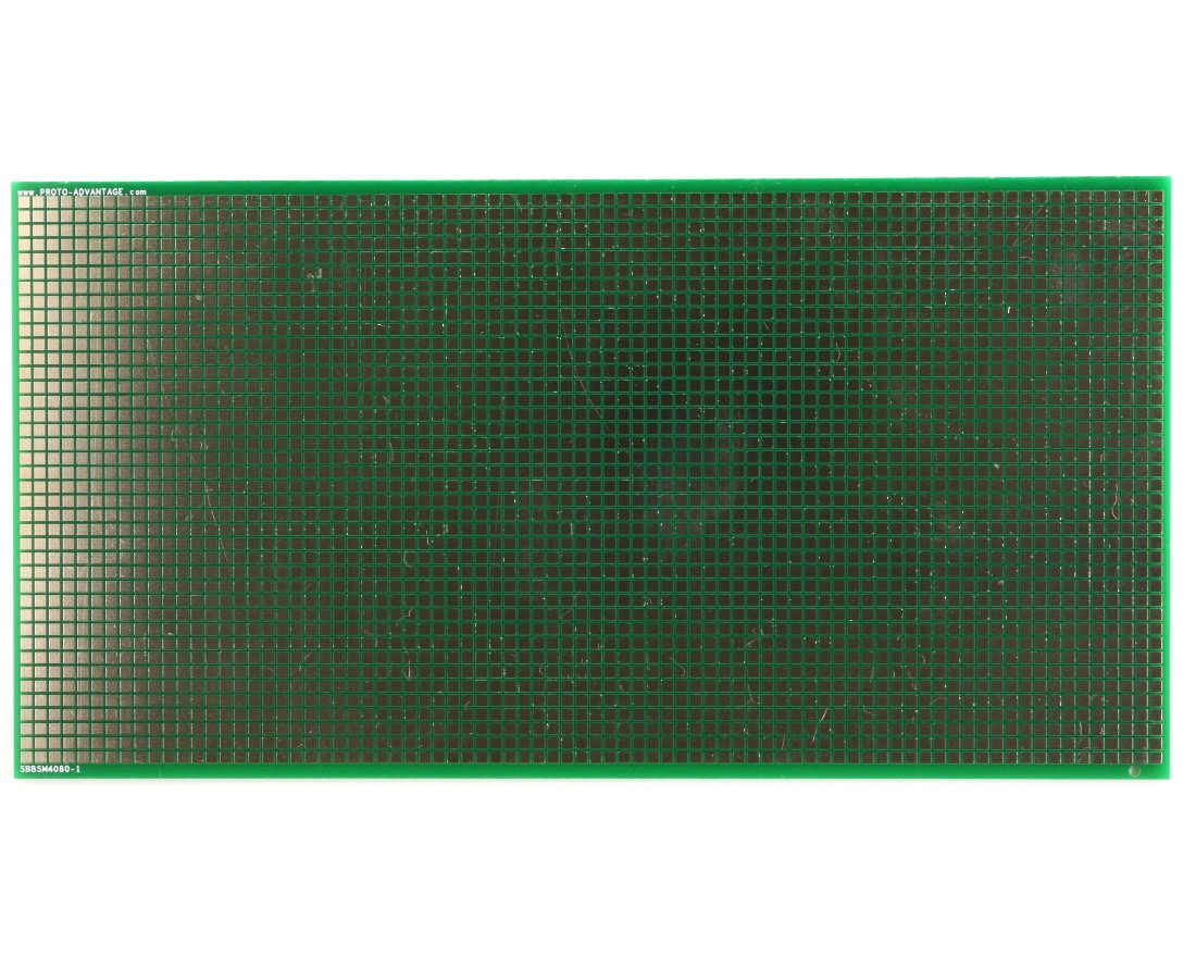 Large Surface mount breadboard 3200 SMT pads 0