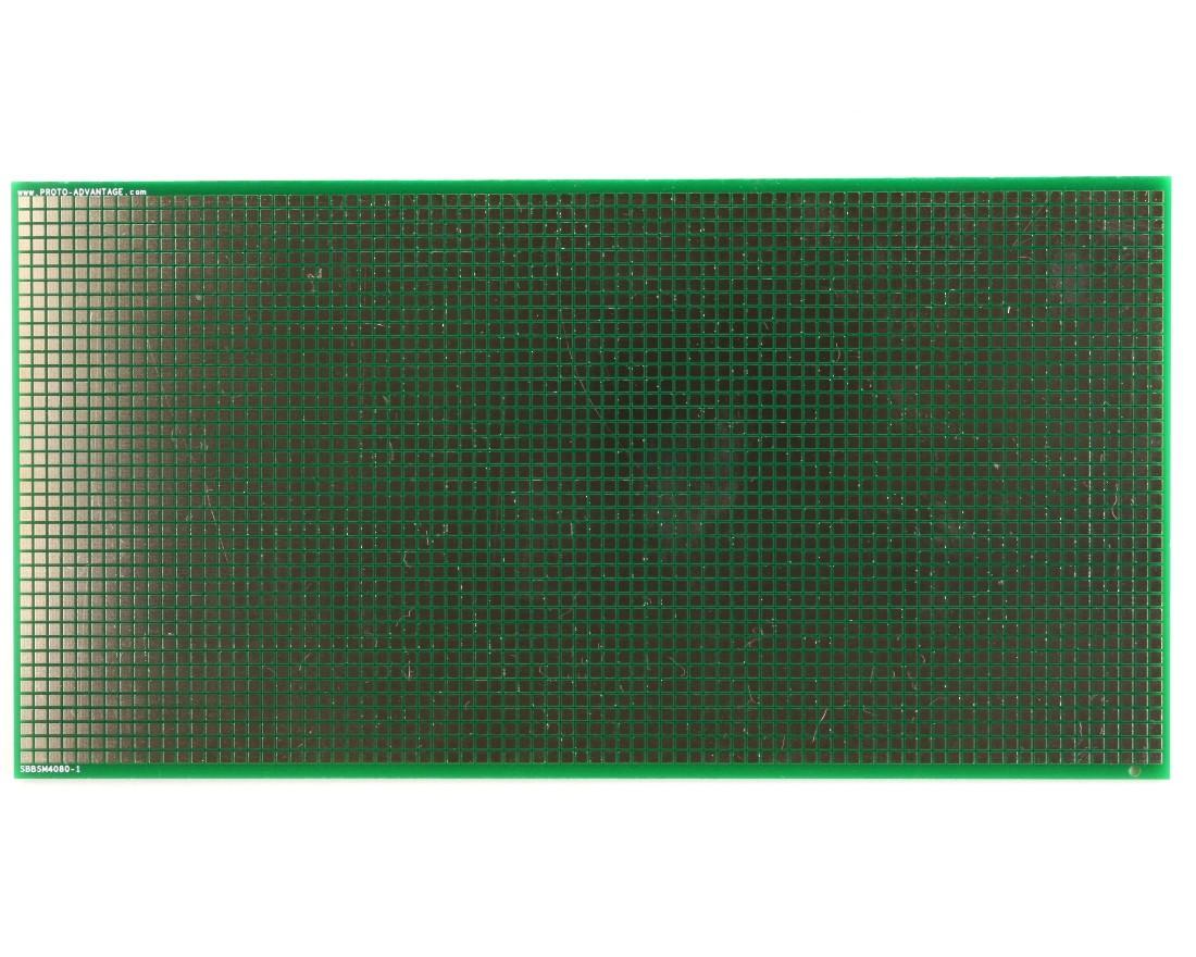 Large Surface mount breadboard 3200 SMT pads 0