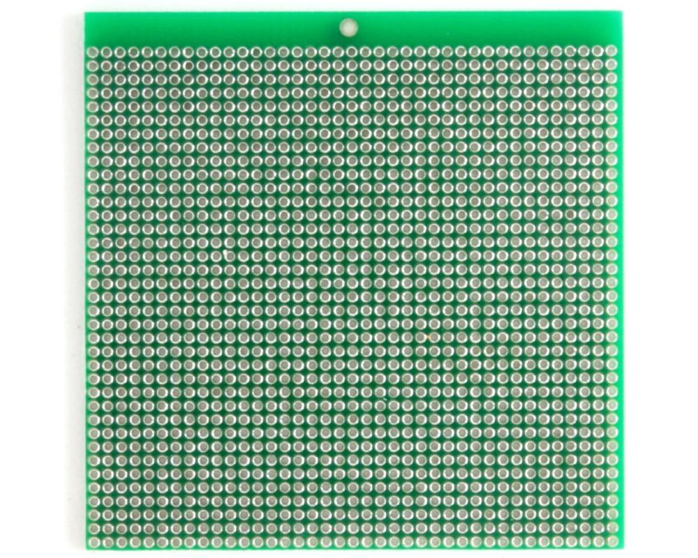 Solder-in breadboard 2x2