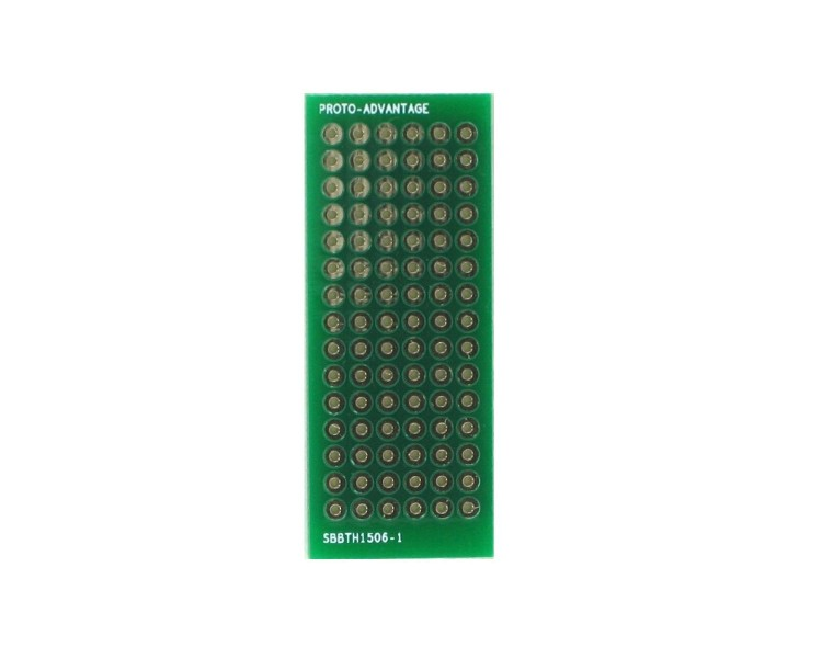 Solder-in breadboard  90 plated holes 0