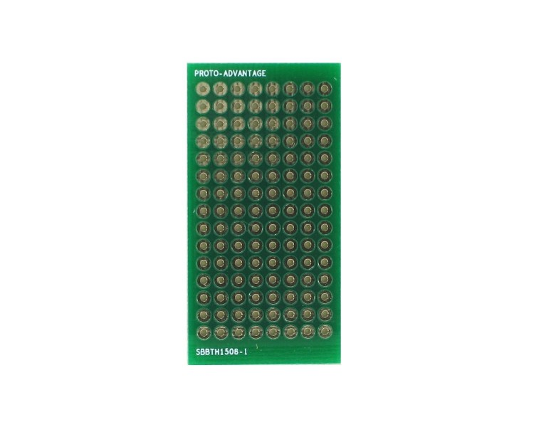 Solder-in breadboard 120 plated holes 0