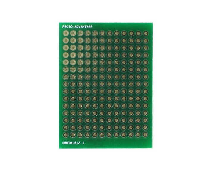 Solder-in breadboard 180 plated holes 0
