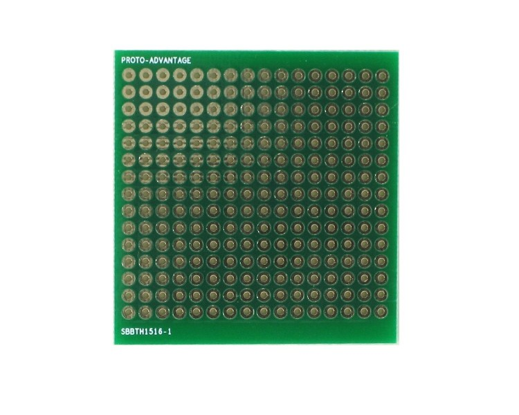 Solder-in breadboard 240 plated holes 0