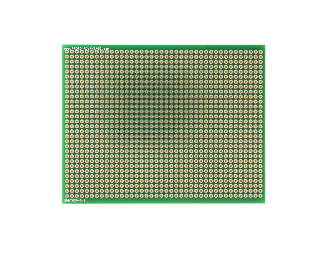 Large Solder-in breadboard 1200 plated holes 0