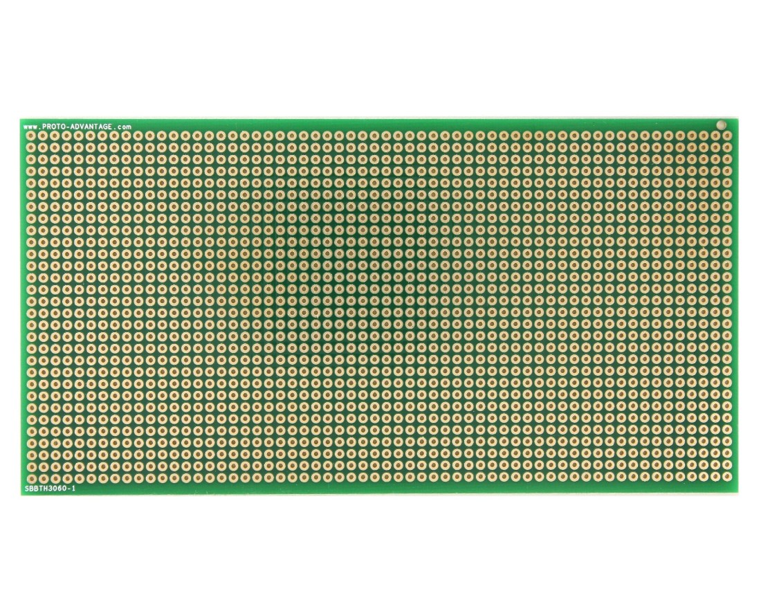Large Solder-in breadboard 1800 plated holes 0