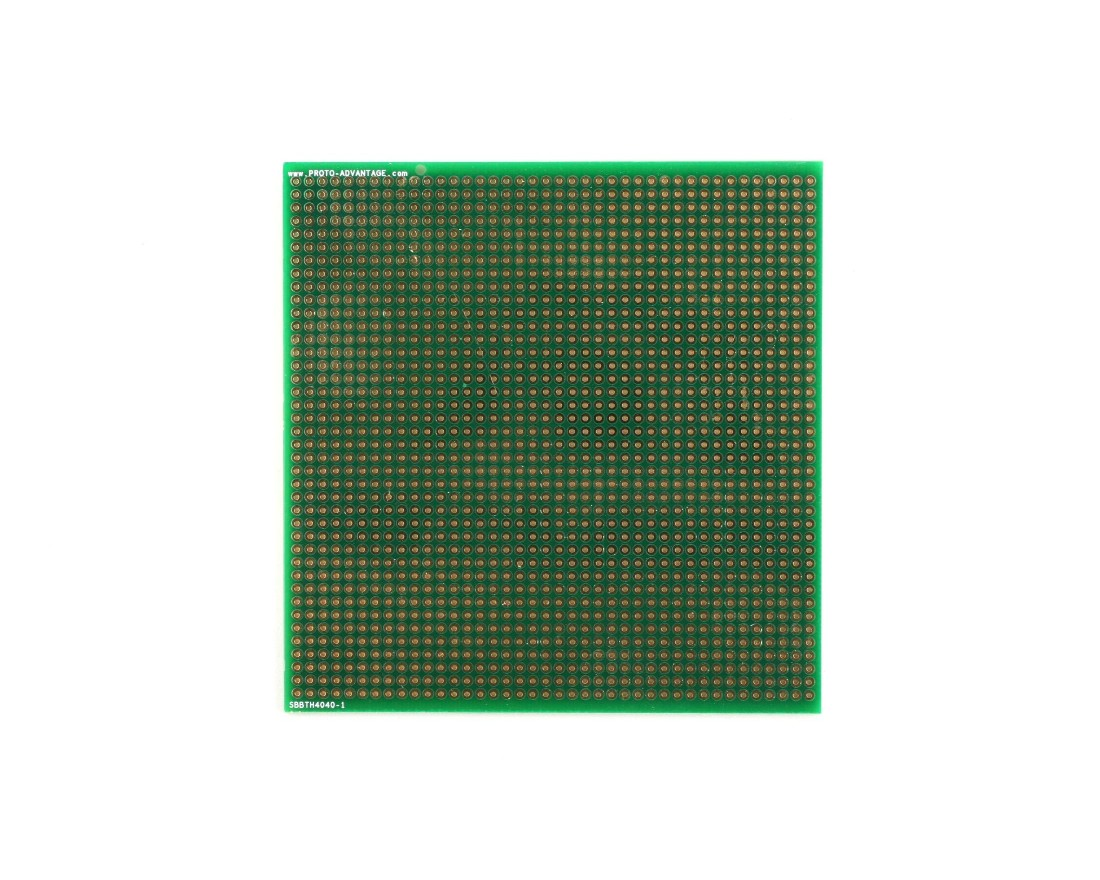 Large Solder-in breadboard 1600 plated holes 0