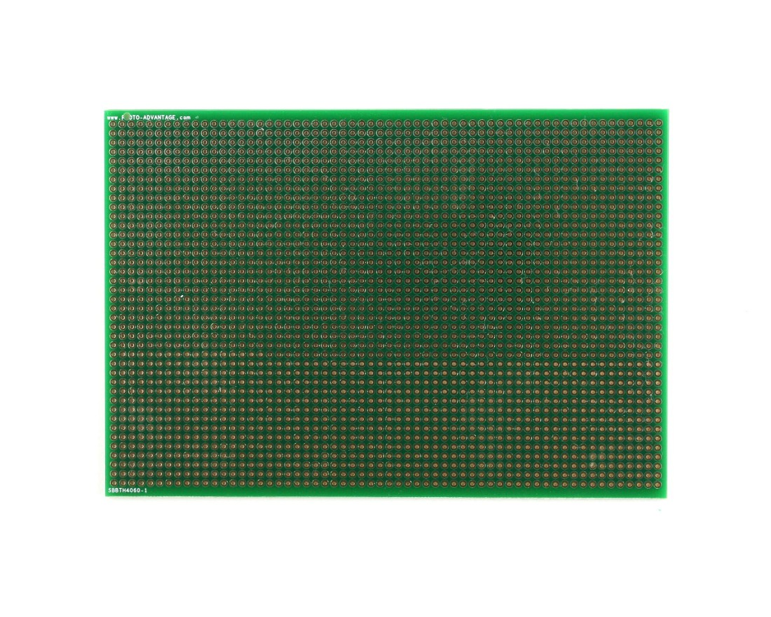 Large Solder-in breadboard 2400 plated holes 0