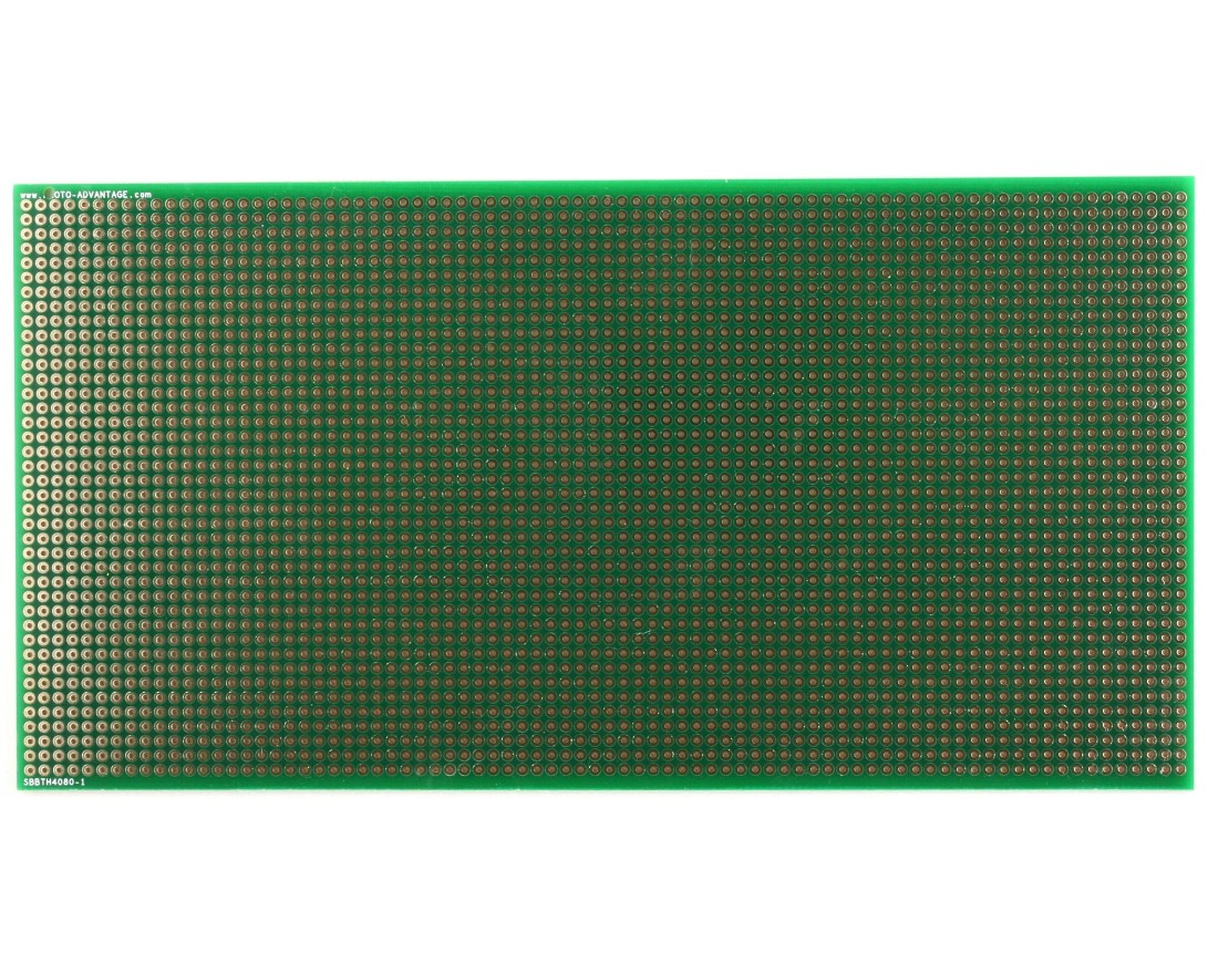 Large Solder-in breadboard 3200 plated holes 0