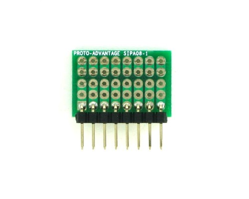 Basic Component and Network SIP Adapter -  8 pin 1