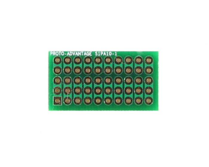 Basic Component and Network SIP Adapter - 10 pin 0