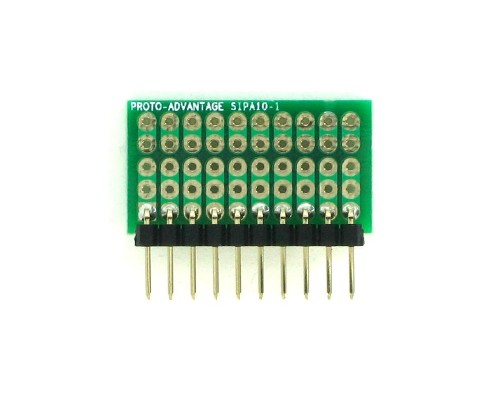 Basic Component and Network SIP Adapter - 10 pin 1
