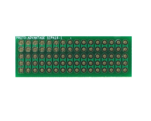 Basic Component and Network SIP Adapter - 16 pin 0