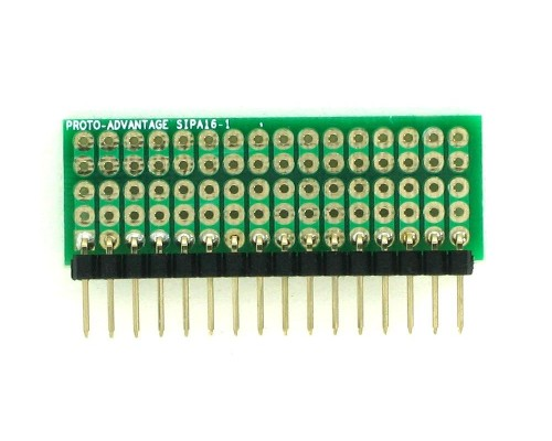 Basic Component and Network SIP Adapter - 16 pin 1
