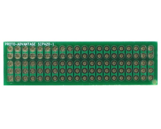 Basic Component and Network SIP Adapter - 20 pin 0