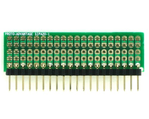 Basic Component and Network SIP Adapter - 20 pin 1