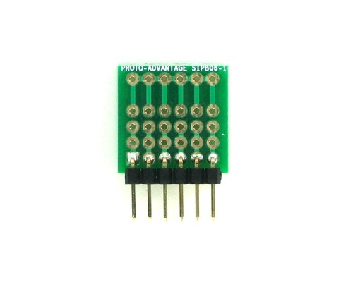 Common Bus Component Network SIP Adapter -  6 pin 1