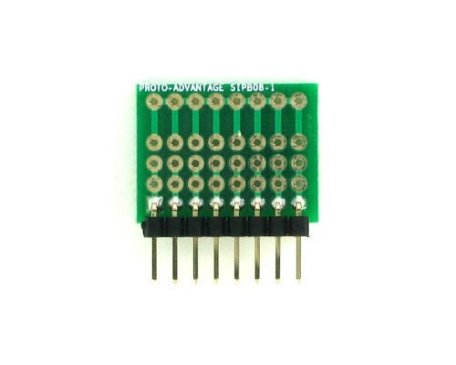 Common Bus Component Network SIP Adapter -  8 pin 1