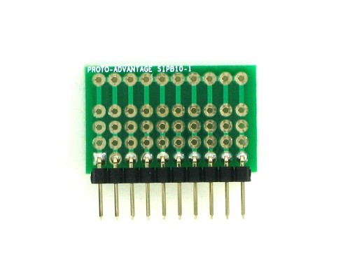 Common Bus Component Network SIP Adapter - 10 pin 1