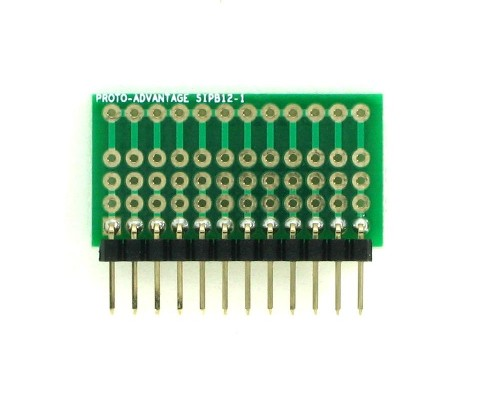 Common Bus Component Network SIP Adapter - 12 pin 1