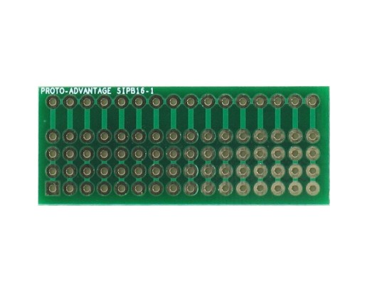 Common Bus Component Network SIP Adapter - 16 pin 0