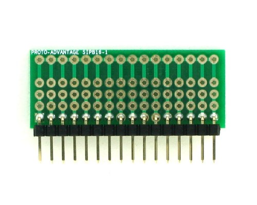 Common Bus Component Network SIP Adapter - 16 pin 1