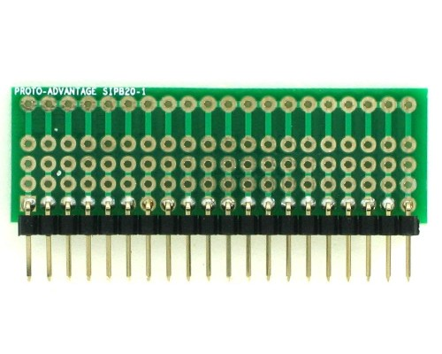 Common Bus Component Network SIP Adapter - 20 pin 1
