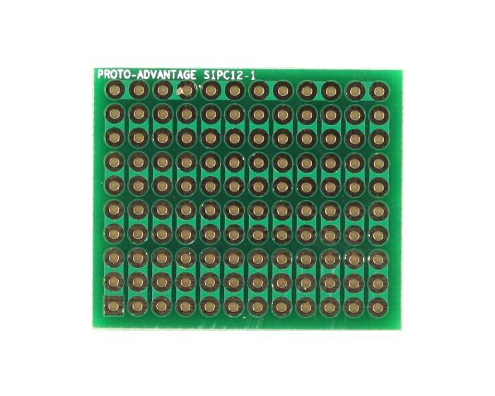 High Density General Purpose SIP Adapter - 12 pin 0