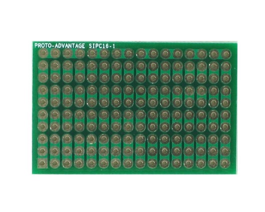 High Density General Purpose SIP Adapter - 16 pin 0