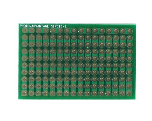 High Density General Purpose SIP Adapter - 16 pin 0