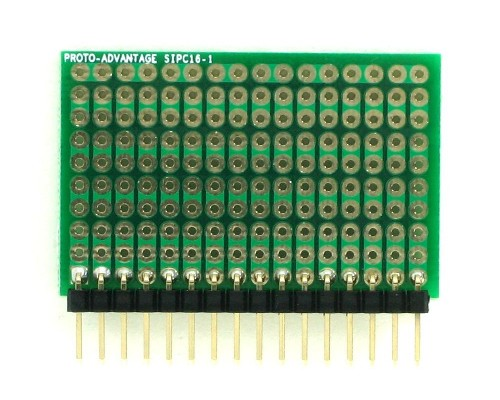 High Density General Purpose SIP Adapter - 16 pin 1