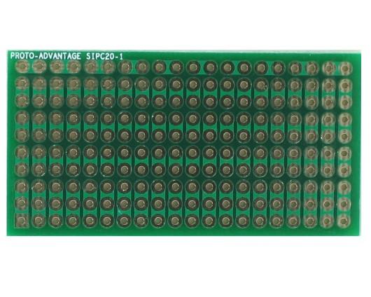 High Density General Purpose SIP Adapter - 20 pin 0