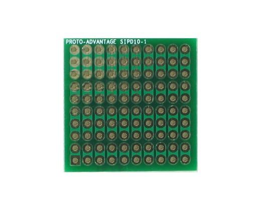 DIP IC (300 mil) to SIP Adapter - 10 pin 0