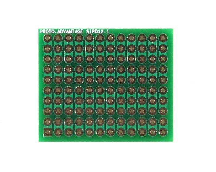 DIP IC (300 mil) to SIP Adapter - 12 pin 0