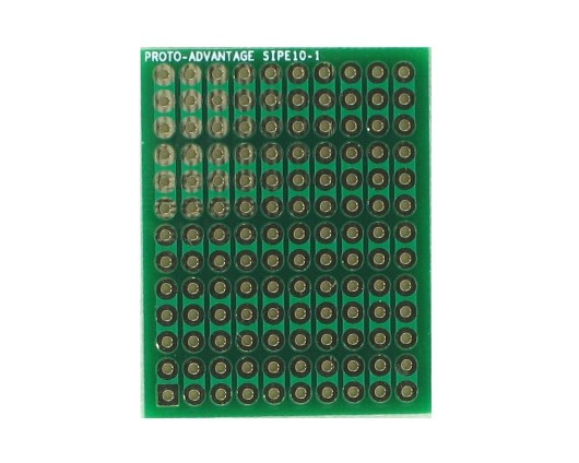 DIP IC (300 mil and 600 mil) to SIP Adapter - 10 pin 0