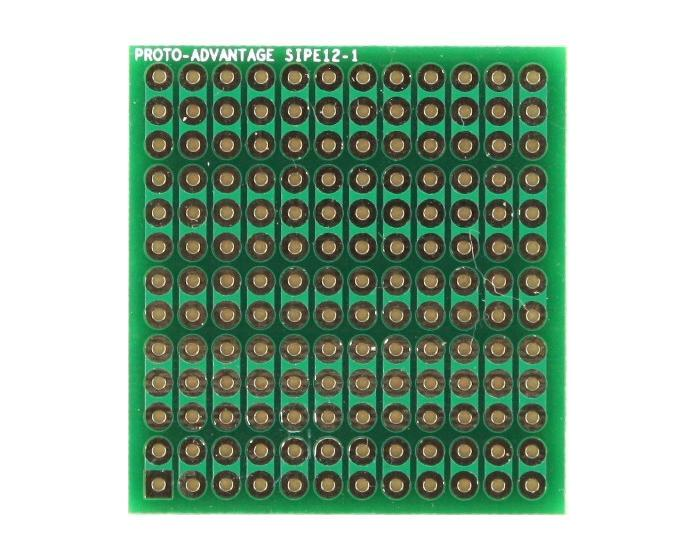 DIP IC (300 mil and 600 mil) to SIP Adapter - 12 pin 0