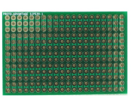 DIP IC (300 mil and 600 mil) to SIP Adapter - 20 pin 0