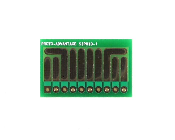 SOT-23, 3 mm, 4 mm to SIP Adapter High Density Circuits - 10  0