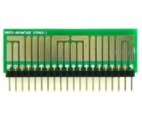 SOT-23, 3 mm, 4 mm to SIP Adapter High Density Circuits - 20  1